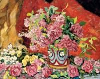 Les roses et la potiche Metthey