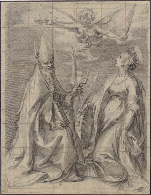 Saints Blaise and Catherine of Alexandria
