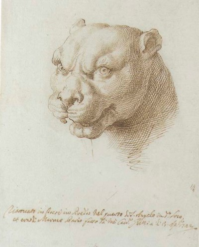 Pier Leone Ghezzi (Rome 1674-1