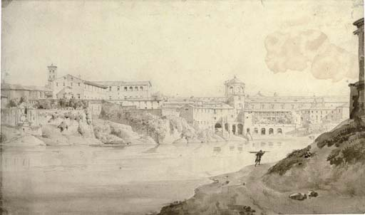 View of the Tiber, Rome