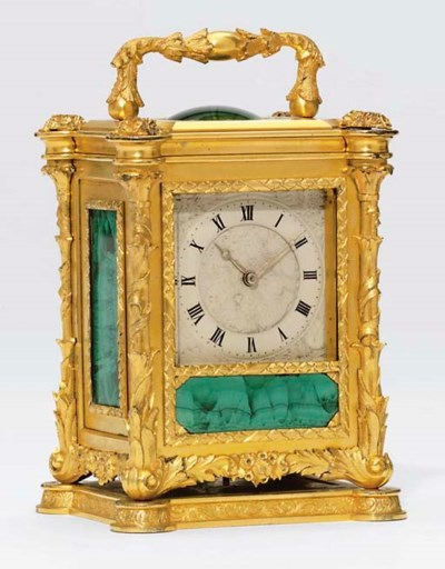 A Victorian gilt-metal and mal