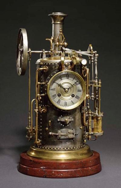 Vertical Steam Boiler A rare F