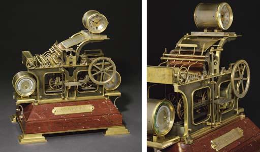 Printing Press A rare French b