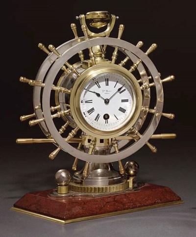Ship's Wheel A French brass an