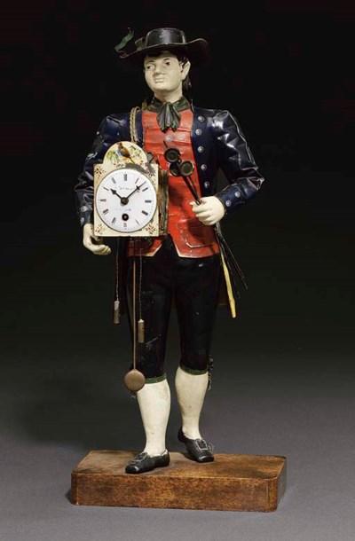 Itinerant Clock Pedlar A Black