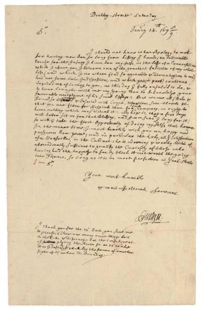 EVELYN, John (1620-1706). Auto