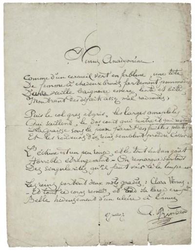 RIMBAUD, Jean Nicolas Arthur (
