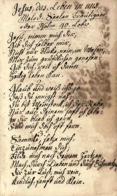 TERSTEEGEN, Gerhard (1697-1769