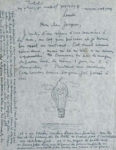 MAGRITTE, René (1898-1967). Au
