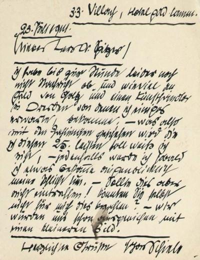 SCHIELE, Egon (1890-1918). Aut
