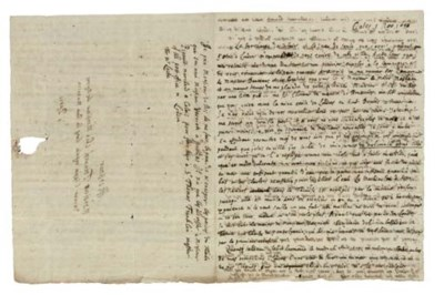 LOCKE, John (1632-1704). Autog