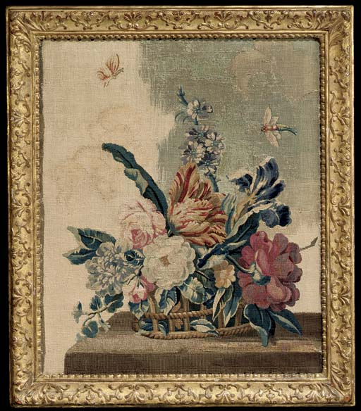 A LOUIS XV AUBUSSON TAPESTRY P