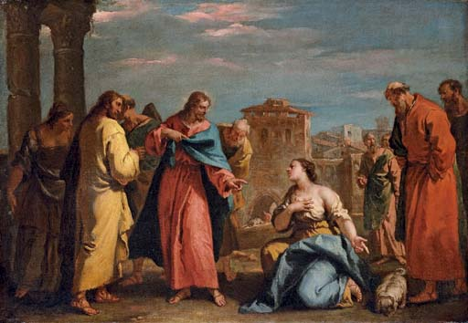 Christ and the Woman of Canaan