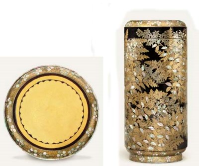A LACQUER JUBAKO [FOOD CONTAIN
