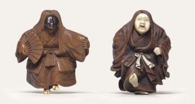 Four netsuke