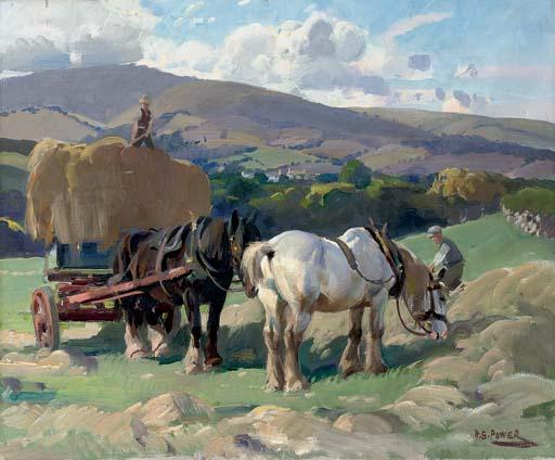 Haymaking, Porlock Vale