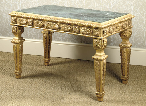 A GEORGE IV GILTWOOD CENTRE TA