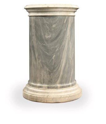 AN ITALIAN GREY-VEINED WHITE M