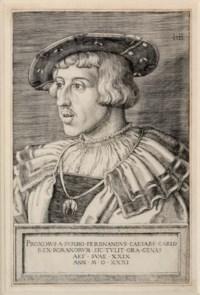 Emperor Ferdinand I (Pauli 91; B., Holl. 61)