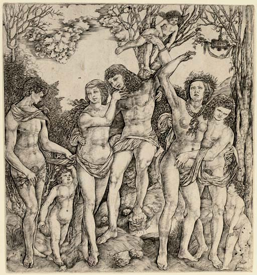 Man tied to a Tree by Eros (Allegory of Love?) (B. 25)