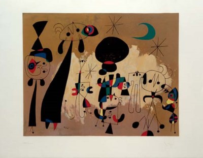 After Joan Miró
