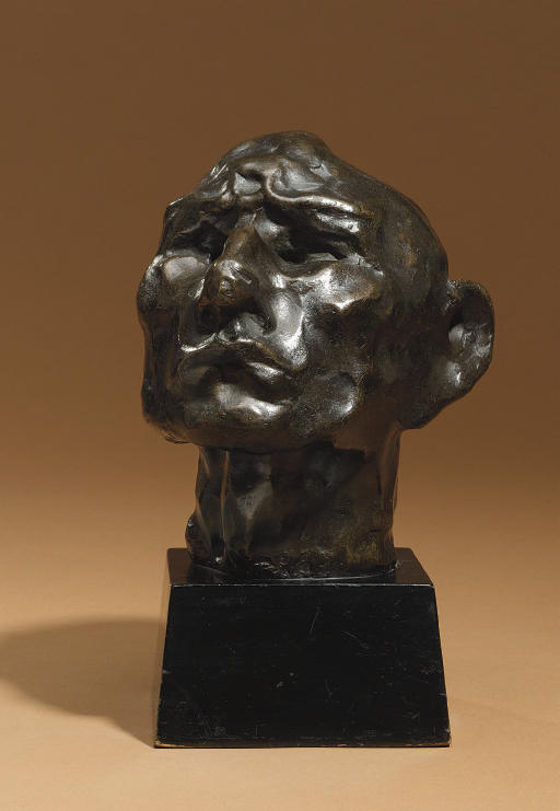 Head of an Idiot/Head of a Jew (Self-Portrait)