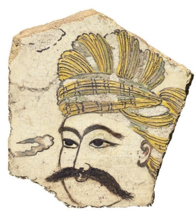 A FRAGMENTARY SAFAVID TILE