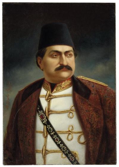 PORTRAIT OF ZILL AL-SULTAN