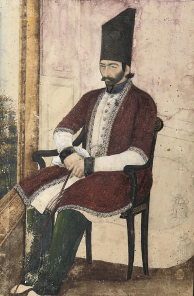 PORTRAIT OF 'ALI QULI MIRZA, I