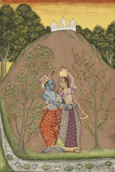 KRISHNA TRYING TO WAYLAY RADHA
