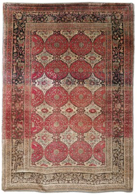 A TURKISH SILK RUG