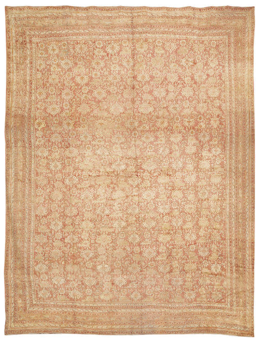 A TURKISH CARPET, POSSIBLY GHI