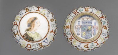A FAMILLE ROSE 'COIN' BOX AND