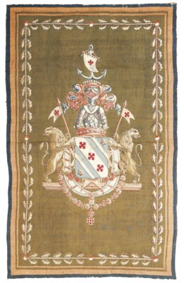 A FRENCH ARMORIAL TAPESTRY