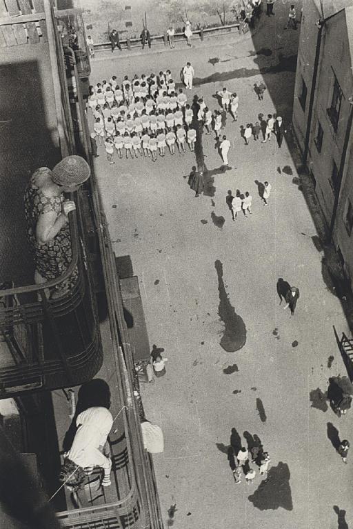 Assembling for a Demonstration, 1928