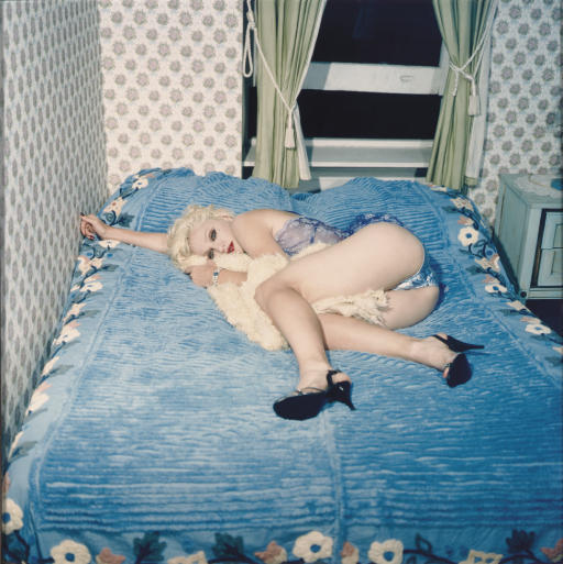 Madonna Blue in Shiny Blue Underpants, New York, September 1994