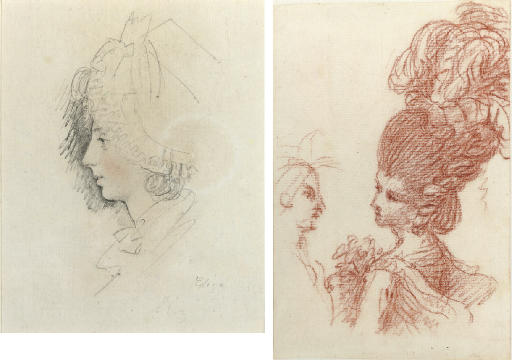 Portrait of a woman, bust-length, traditionally identified as the artist's wife, Elizabeth