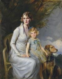 Mrs Paul Bridgeman and Miss Jeannine Bridgeman