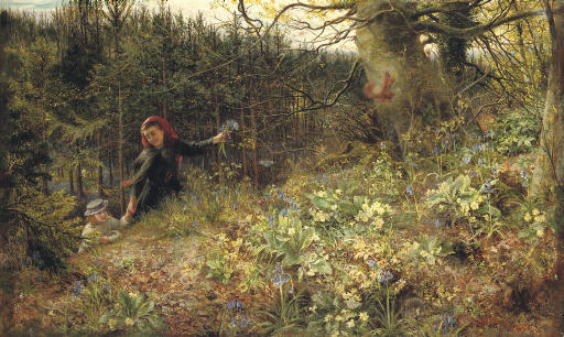 """A Woodland Ramble """"When daisies pied and violets blue And Lady-smocks all silver white, and cuckoo buds of yellow hue"""" - William Shakespeare, Love's Labour's Lost, Act V, Scene 2"""