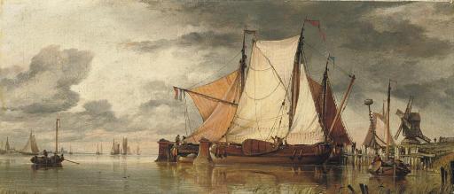 Edward William Cooke, R.A. (18