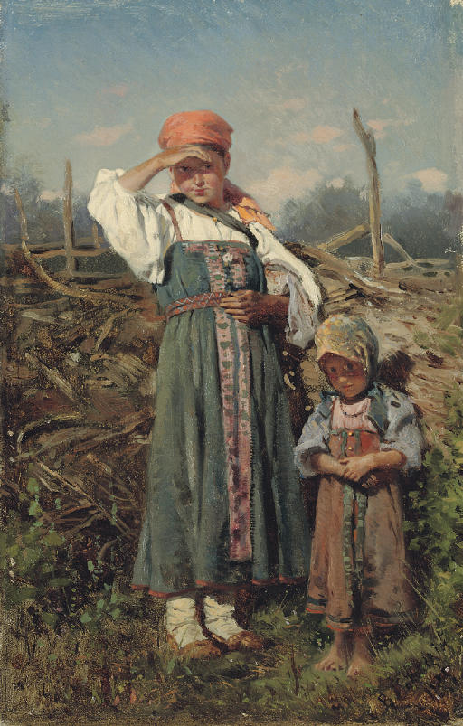 Peasant girls