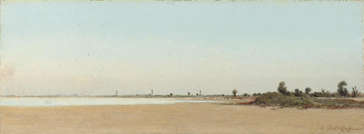 View of Camargue, France
