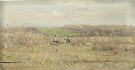 Hunters in the Steppe