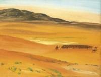 Le troupeau des chameaux, Sahara