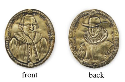 A JAMES I SILVER-GILT MEDAL