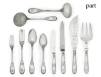 AN EXTENSIVE FRENCH SILVER TABLE-SERVICE