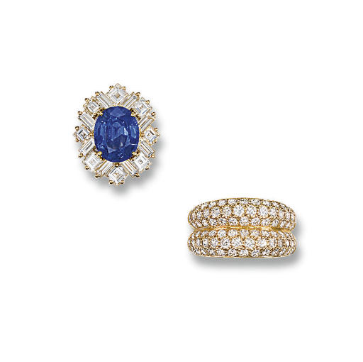 A DIAMOND RING, BY CARTIER AND