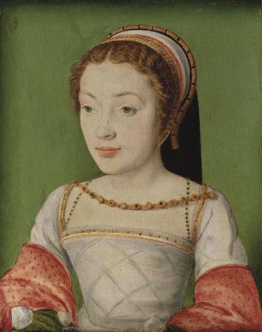 Corneille de La Haye, called Corneille de Lyon (The Hague 1500-1575 Lyons)