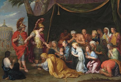 The Family of Darius before Alexander