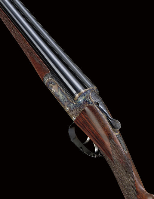 A FINE AND VIRTUALLY UNUSED 28-BORE BOXLOCK EJECTOR GUN BY WESTLEY RICHARDS, NO. 2102